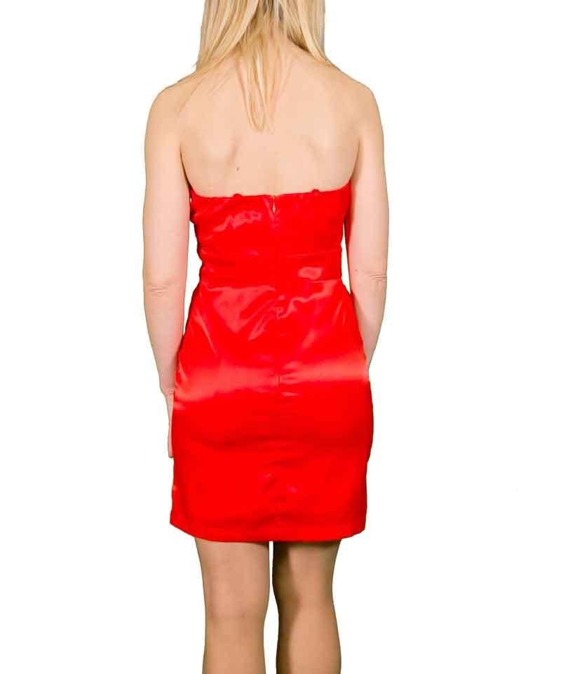 Στενό φόρεμα από ελαστικό σατέν