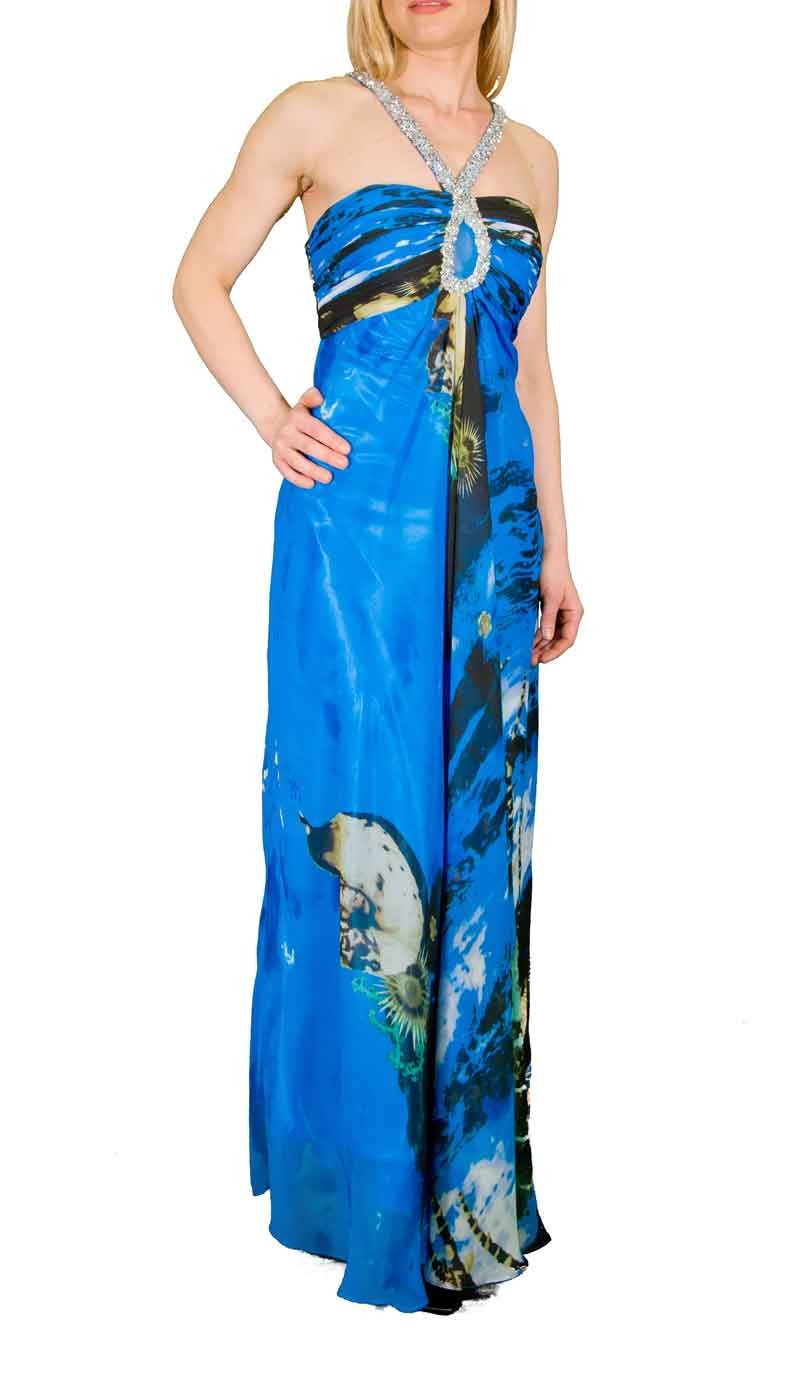 Long dress «Βυθός»