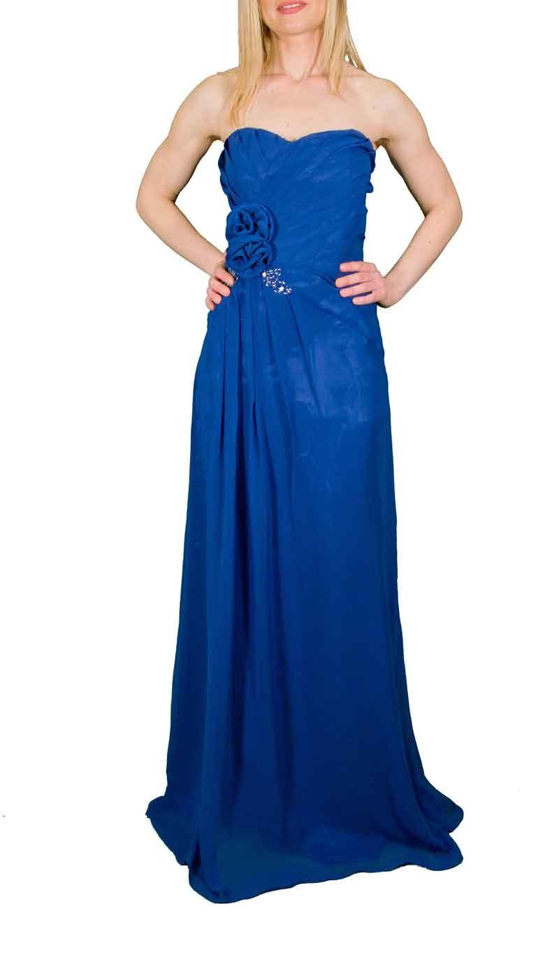 Μακρύ φόρεμα από μουσελίνα