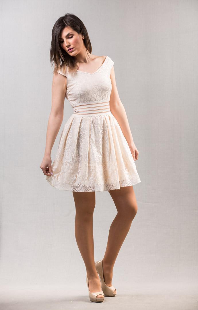 Fashion lace dress